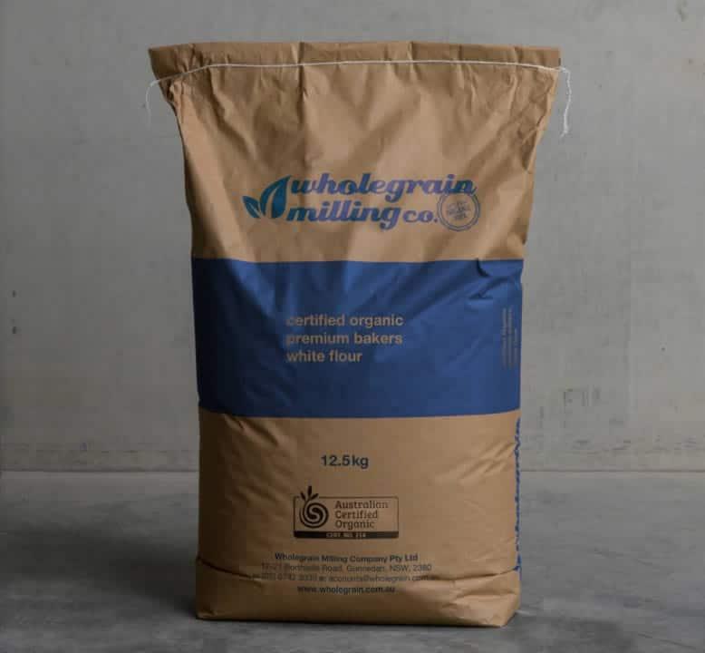 Certified Organic white flour